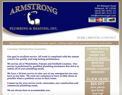 Armstrong Plumbing and Heating