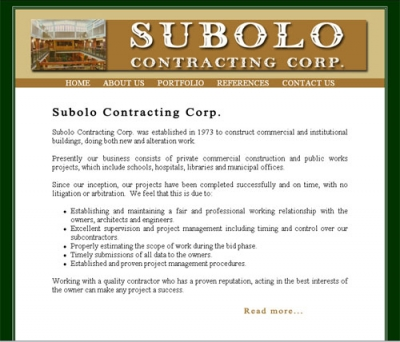 Subolo Contracting